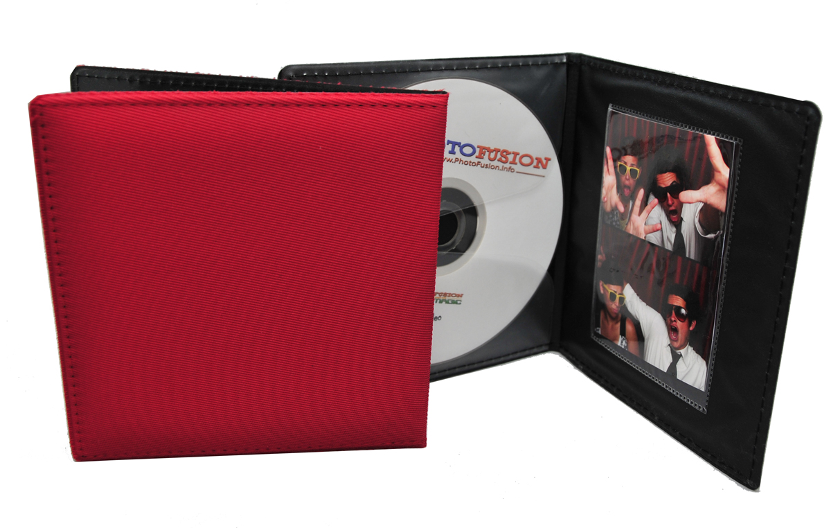 PhotoFusion CD/DVD Memory Folio Red